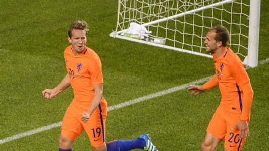 Luuk de Jong Bas Dost Netherlands 27052016