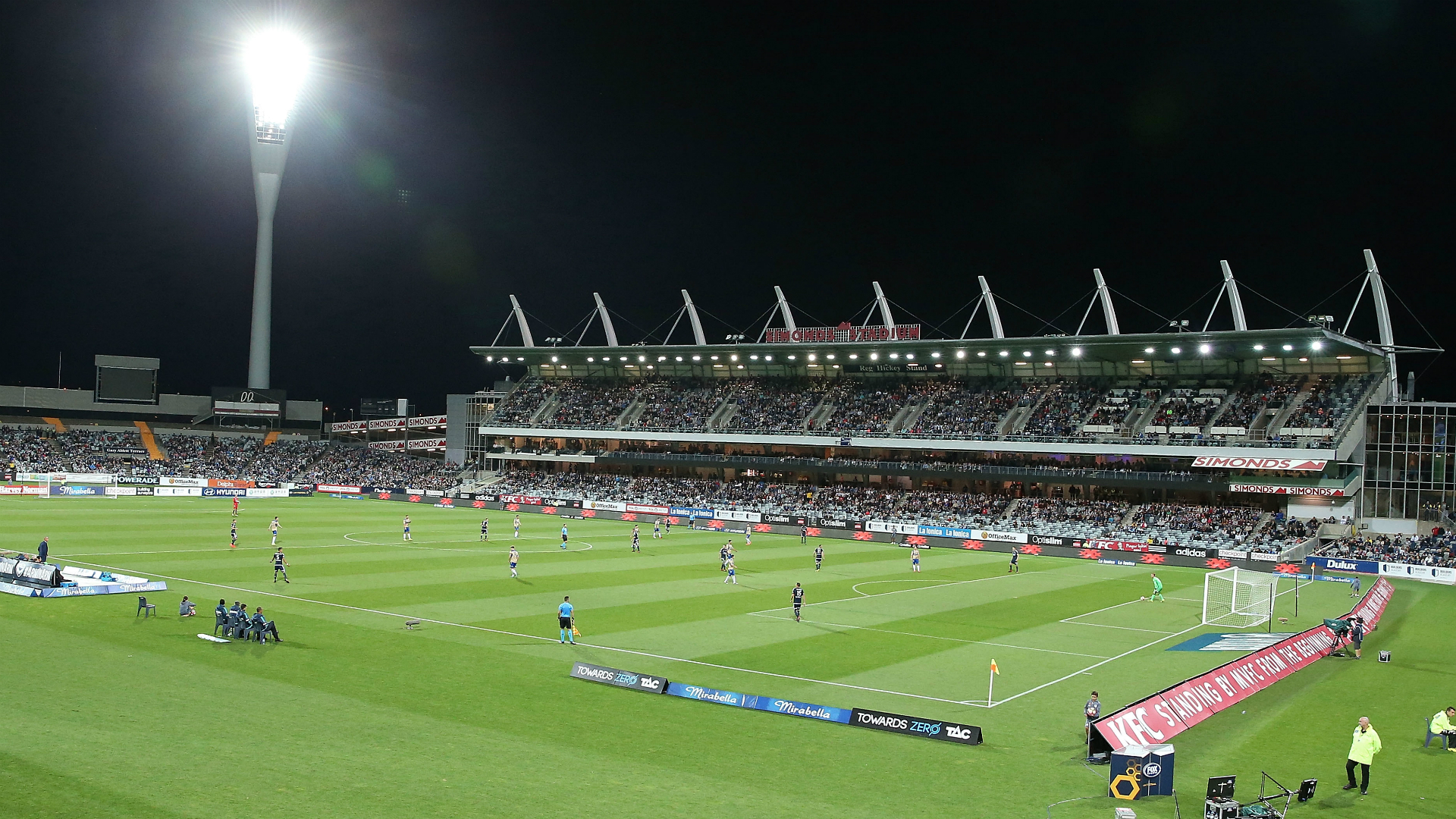 Melbourne Victory v Newcastle Jets A-League 02012017
