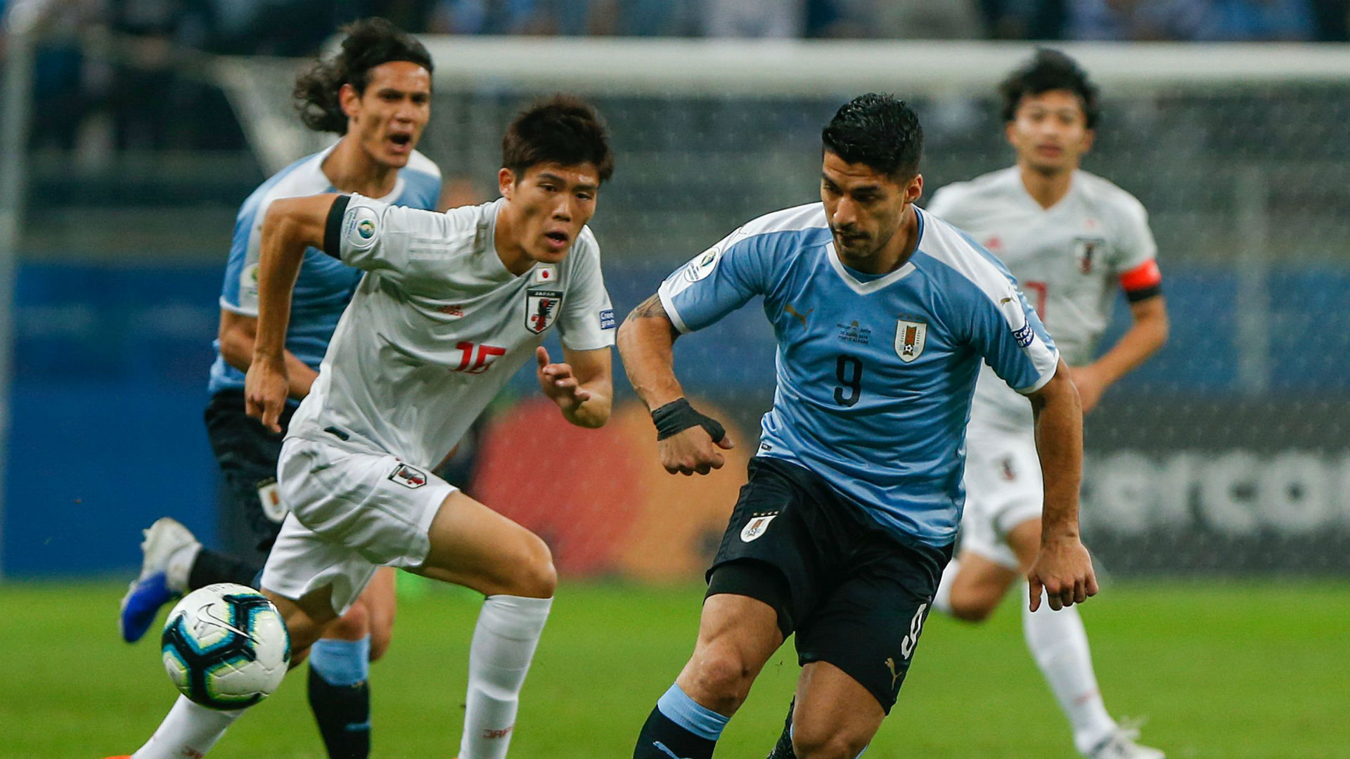 Uruguay held by Japan in Copa America