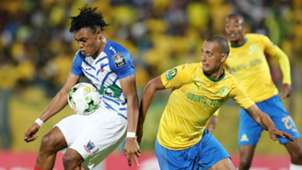Kadri Timileyin and Wayne Arendse, Mamelodi Sundowns v Lobi Stars, March 2019