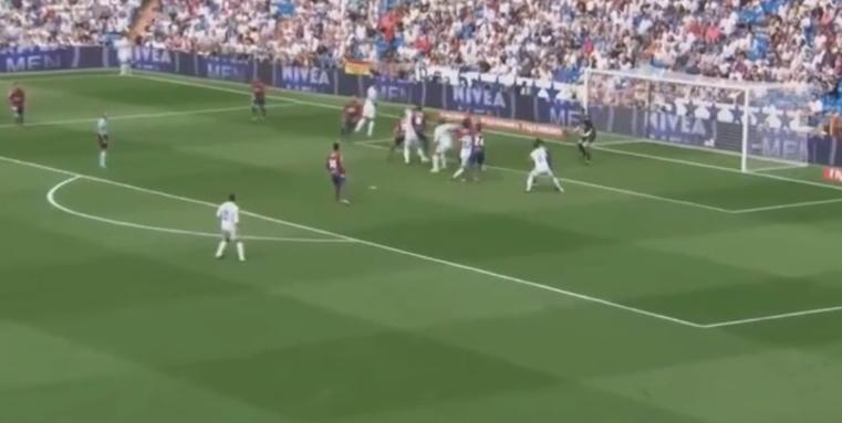 أخطاء الحكم هيرنانديز هيرنانديز في مباراة ريال مدريد وليفانتي