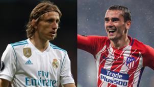 UEFAスーパーカップ,アトレティコ・マドリー対レアル・マドリー,モドリッチ,グリーズマン