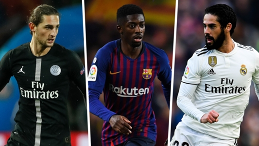 Top 25 January 2019 transfer targets: From Ousmane Dembele