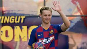 Frenkie de Jong FC Barcelona 2019
