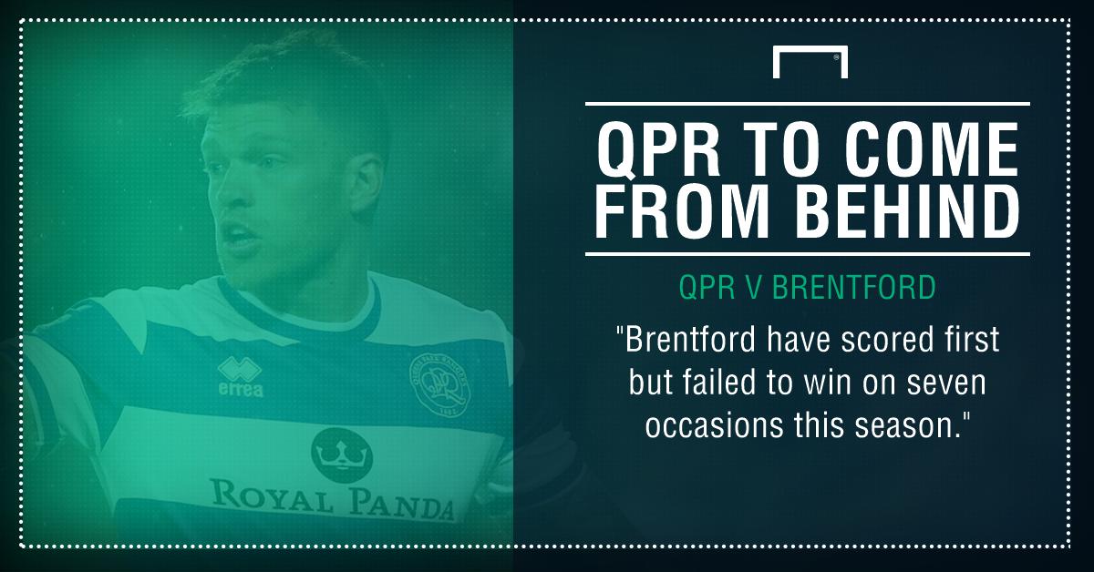 QPR Brentford graphic