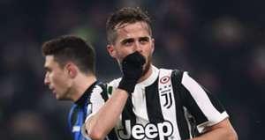 Miralem Pjanic Juventus Atalanta Coppa Italia