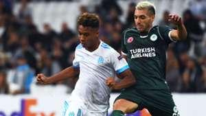 Boubacar Camara Mehdi Bourabia Marseille Konyaspor UEFA Europa League 14092017