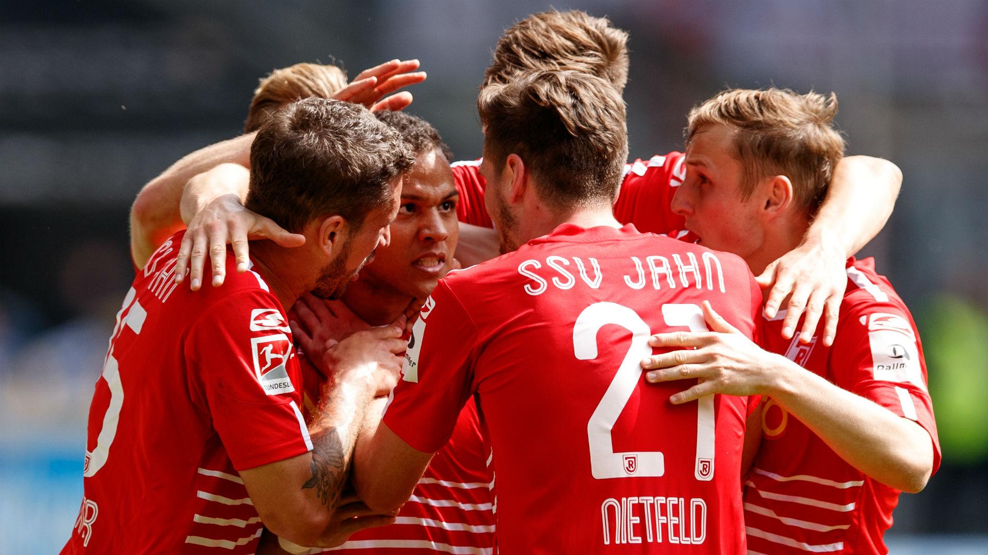 Jahn Regensburg celebration