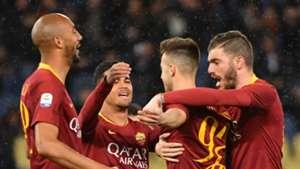 Roma celebrate vs Empoli
