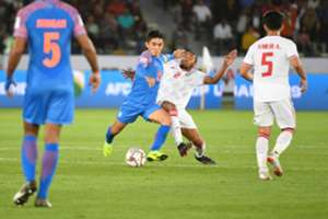 India vs UAE Sunil Chhetri
