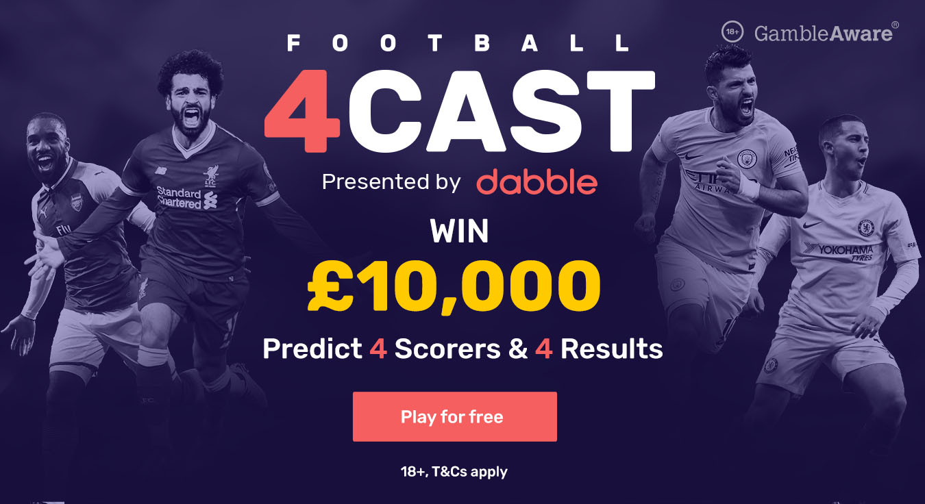 £10,000 prize in Champions League Football 4Cast featuring Real Madrid, PSG and Liverpool