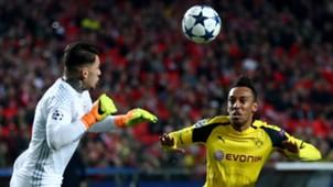 Ederson Moraes Benfica Borussia Dortmund