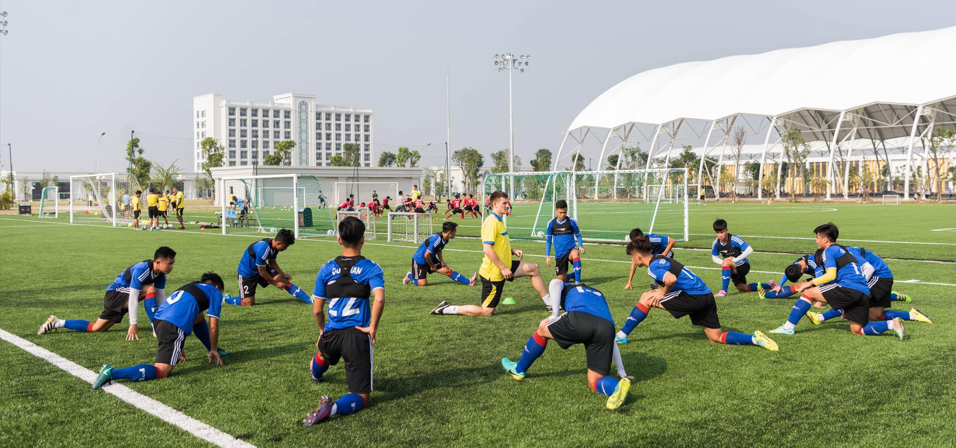 PVF đào tạo trẻ