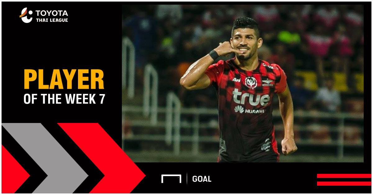 ผลการค้นหารูปภาพสำหรับ Toyota Thai League Player of the Week 7 : เนลสัน โบนิญา