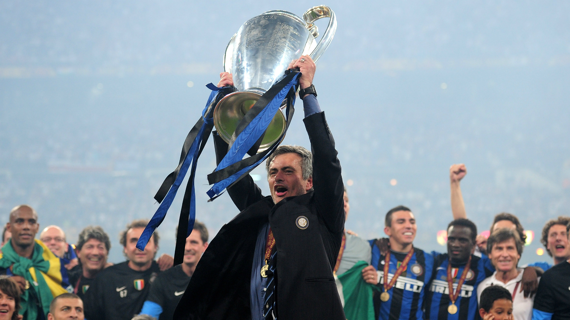 Jose Mourinho Inter Champions League