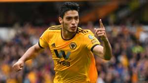 Raul Jimenez Wolves Manchester United FA Cup 2019