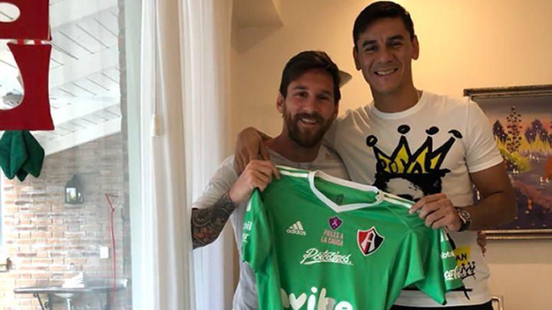 Ustari y Messi