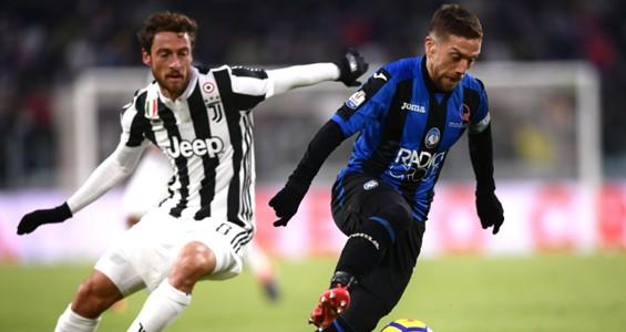Alejandro Gomez Claudio Marchisio Juventus Atalanta Coppa Italia