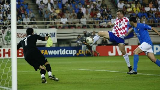 Ivica Olic Croatia Italy WC 2002