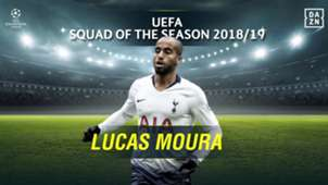 Lucas Moura: 2018-19 UEFA Champions League Squad of the Season - Forwards