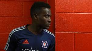 David Accam Chicago Fire MLS
