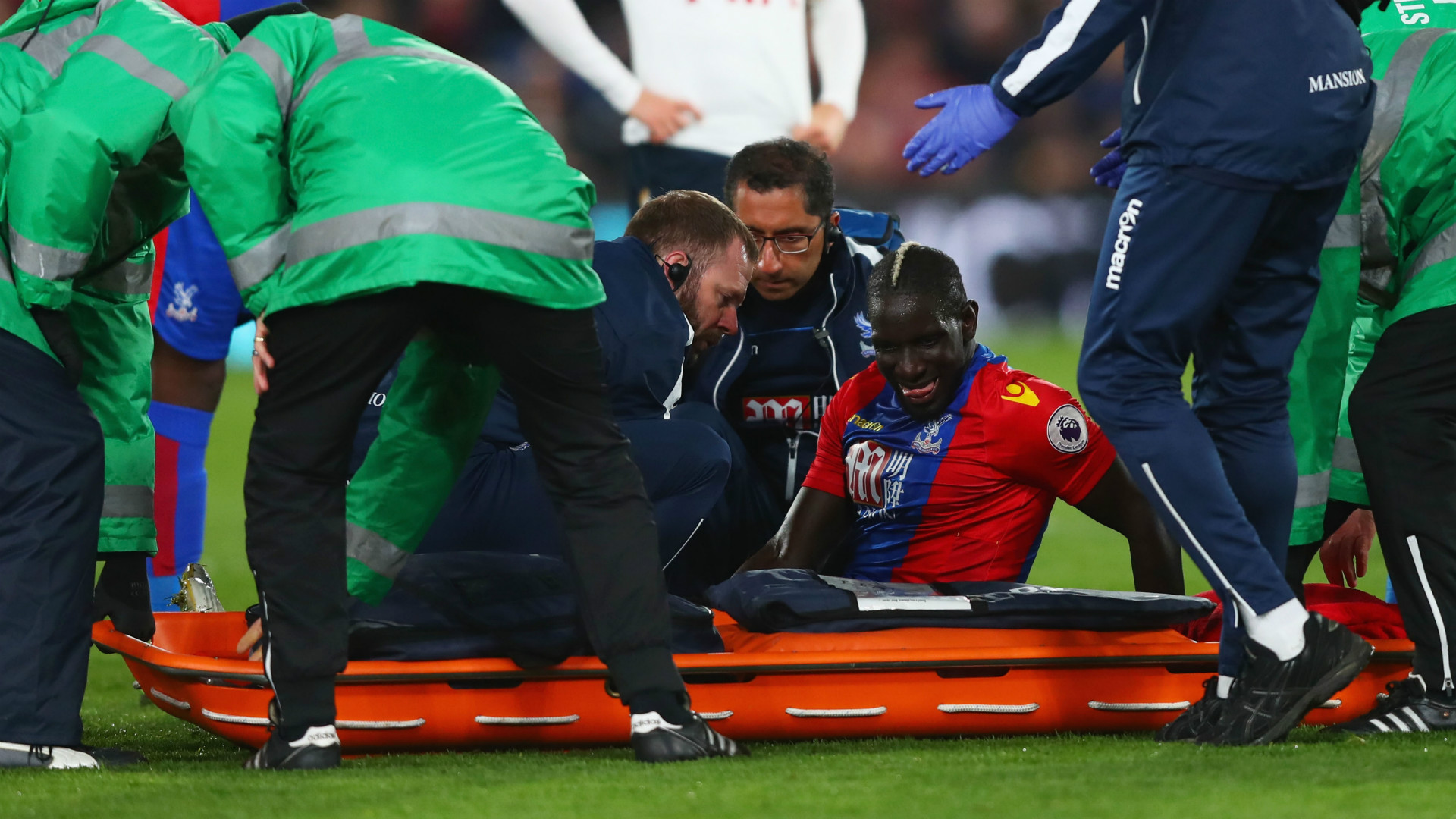 HD Mamadou Sakho knee injury