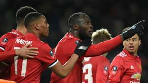 Romelu Lukaku Manchester United celebration