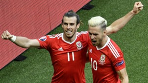 Bale Ramsey Wales Northern Ireland Euro 2016