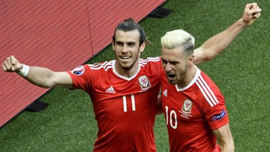 Bale Ramsey Wales Northern Ireland Euro 2016