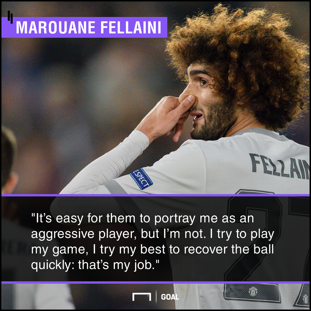 Marouane Fellaini not a thug
