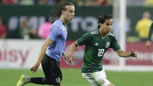 Diego Laxlt Uruguay Diego Lainez Mexico