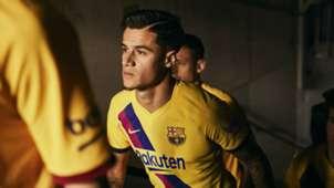 Philippe Coutinho Barcelona away kit 2019-20