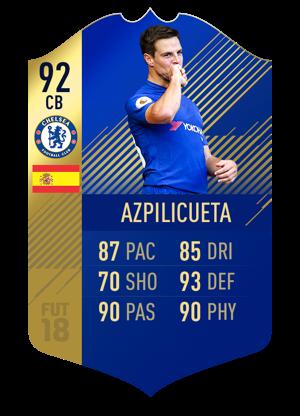FIFA 18 Team of the Season Azpilicueta