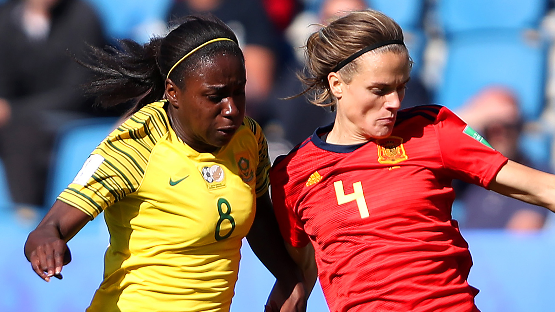 Irene Paredes Spain Ode Fulutudilu South Africa Women's World Cup