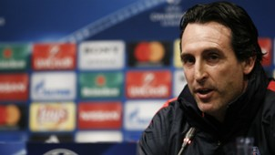Unai Emery PSG Champions League