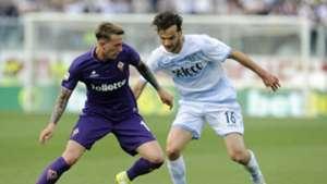 Marco Parolo Federico Bernardeschi Fiorentina Lazio Serie A