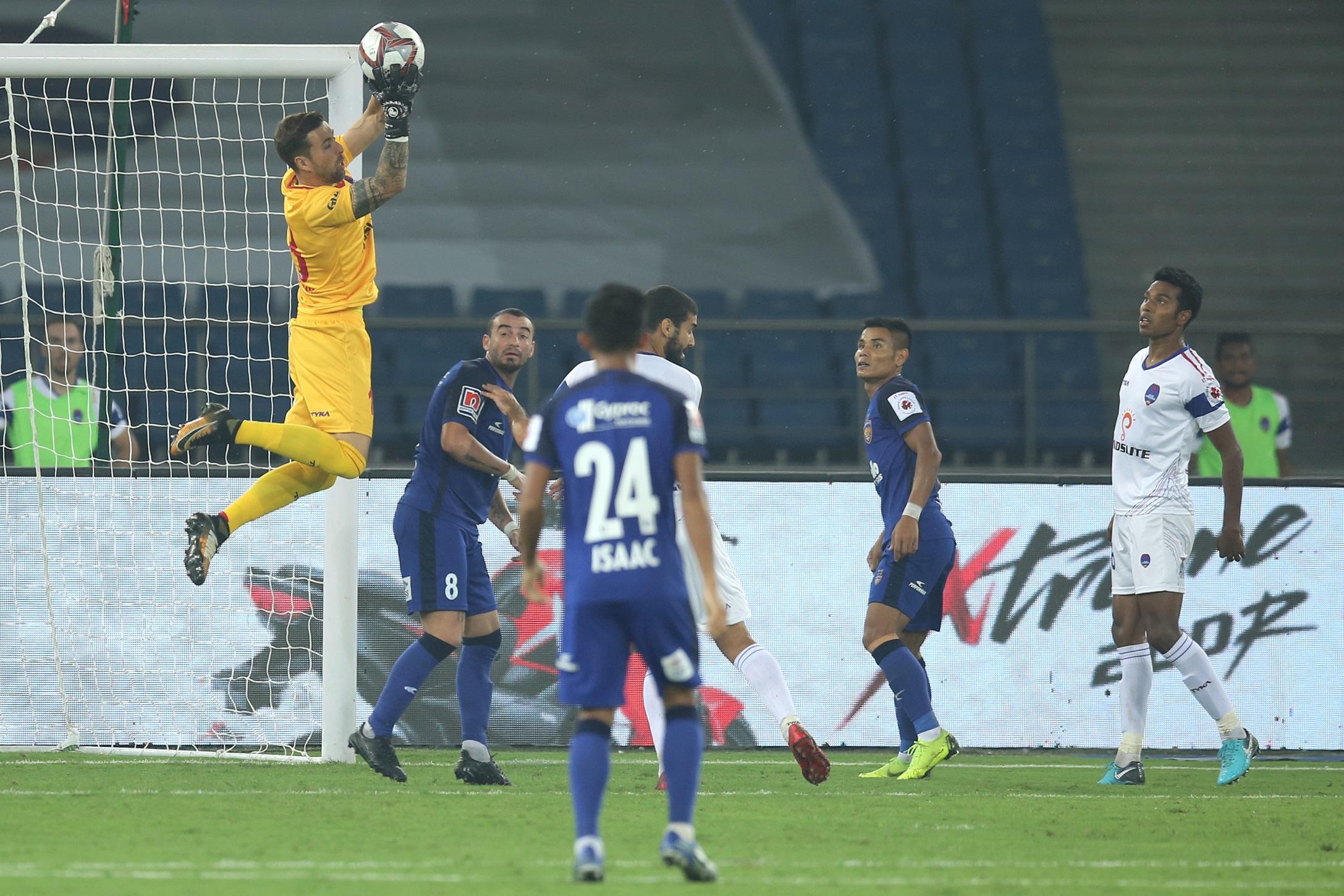 Delhi Dynamos Chennaiyin FC ISL