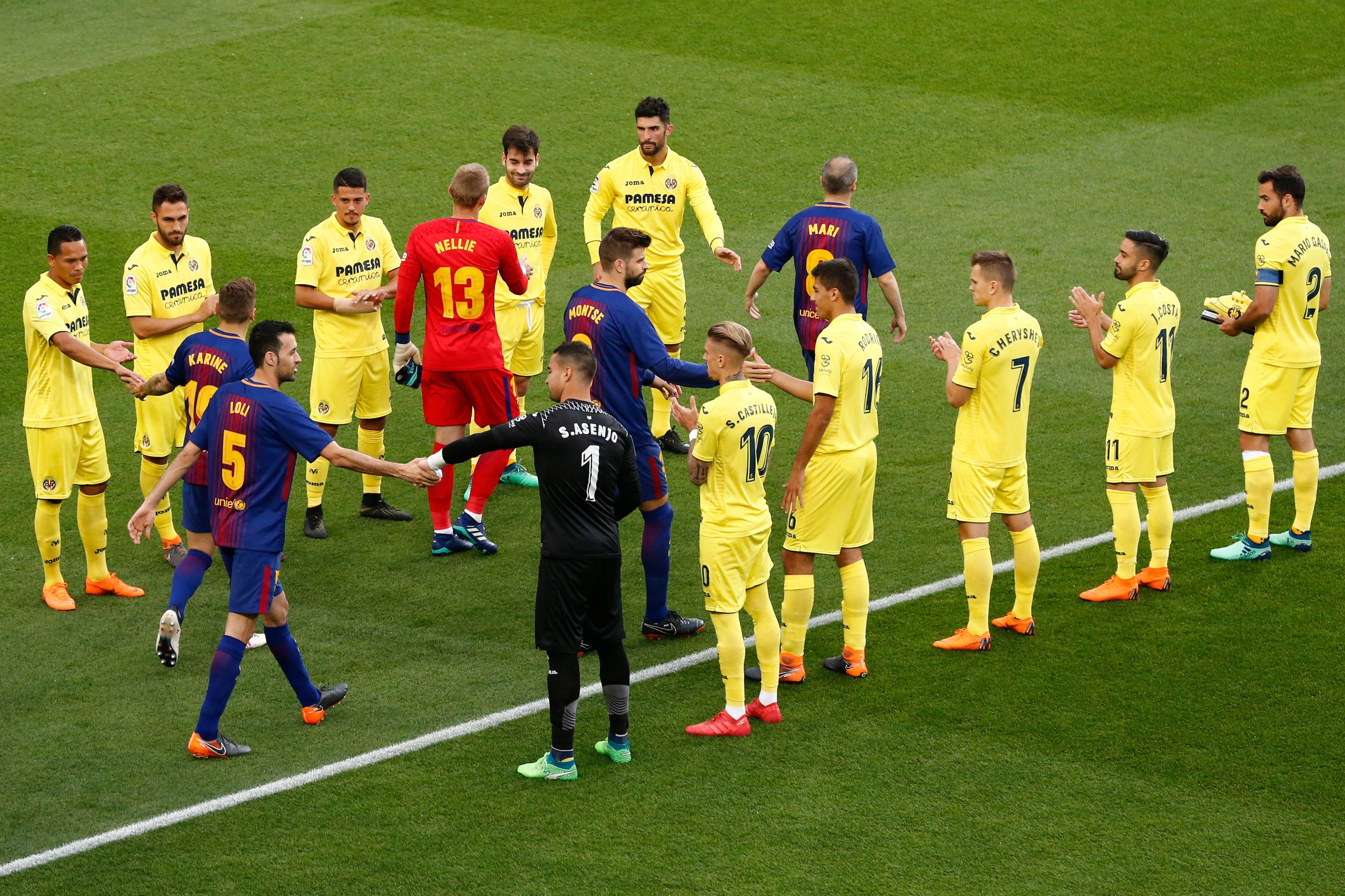 Barcelona Villarreal LaLiga