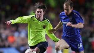 Lionel Messi Arjen Robben Chelsea Barcelona UEFA Champions League 2006