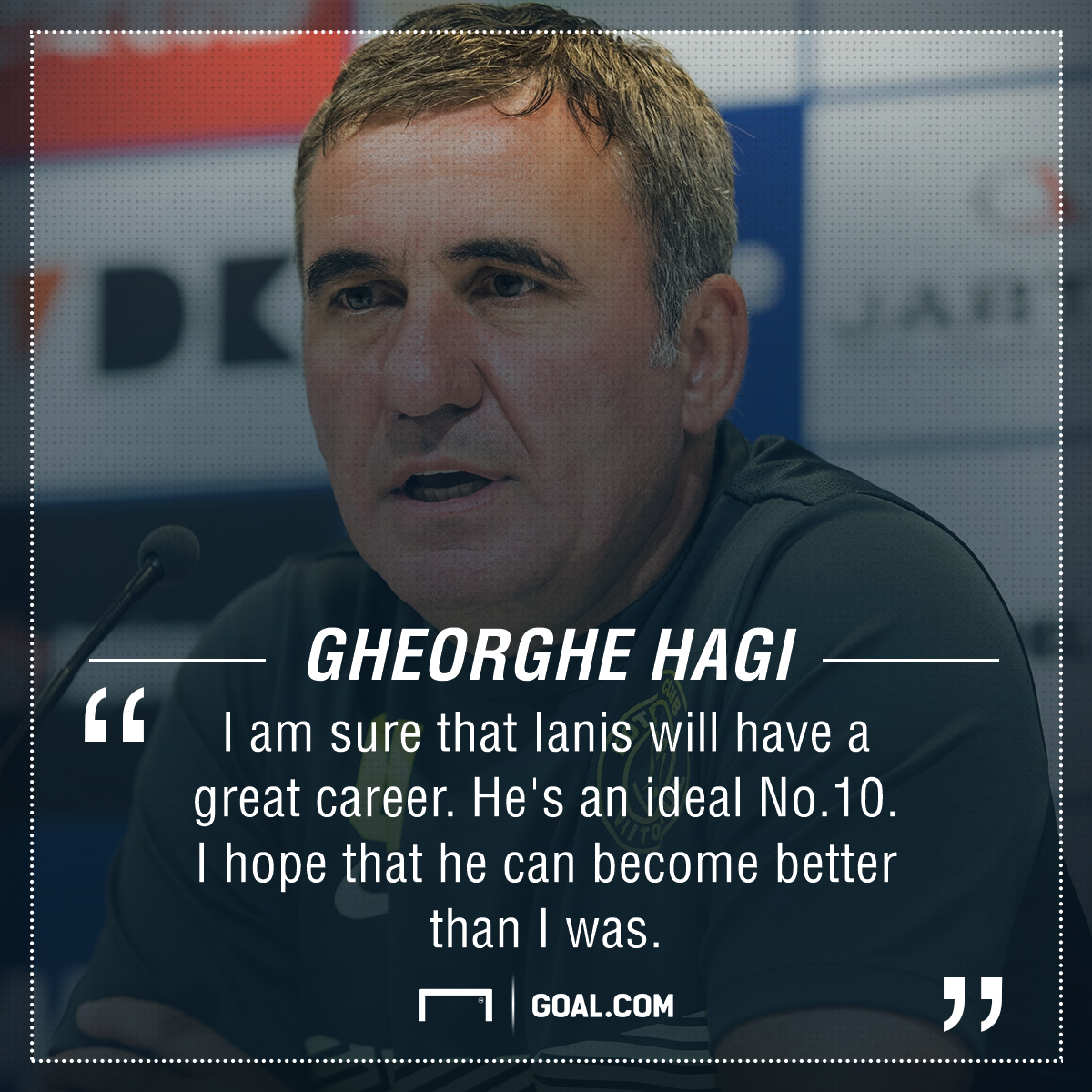 Gheorghe Hagi Ianis PS
