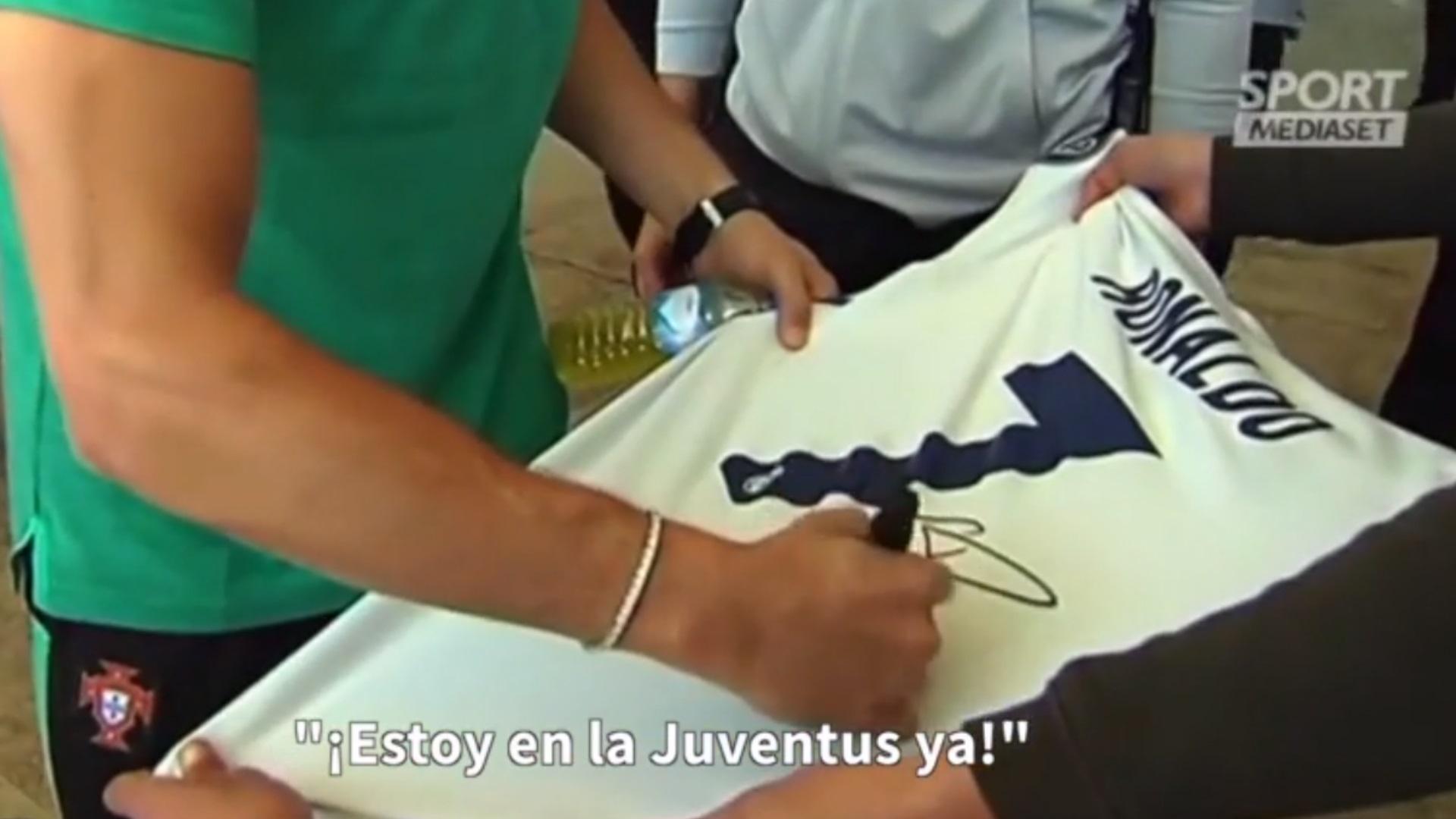 277a9916e6e Cristiano Ronaldo camisa Real Madrid autógrafo