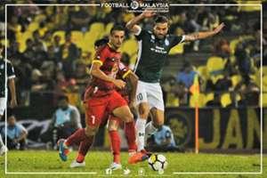 Flavio Beck, Negeri Sembilan, Tiago Gomes, Melaka United, Malaysia Super League, 11022018