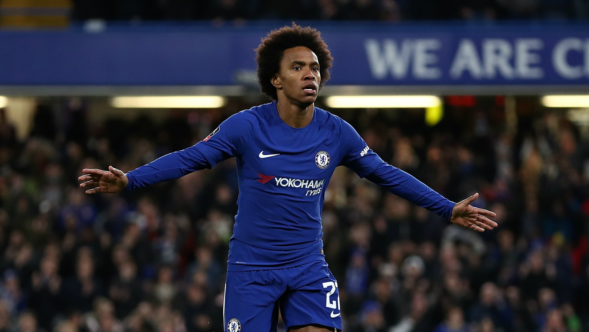 Willian Chelsea Hull City