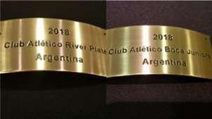 Chapas Boca River Copa Libertadores