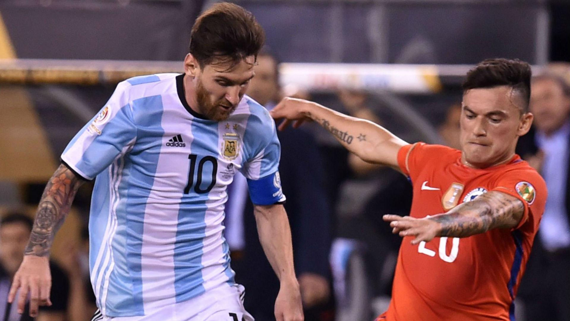 260616 Chile Argentina Final Copa América 2016