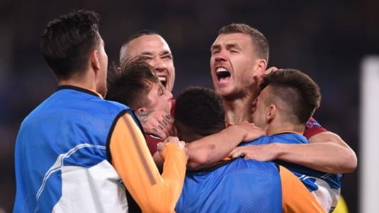 Edin Dzeko Roma Shakhtar Donetsk