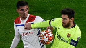 HOUSSEM AOUAR OLYMPIQUE LYON LIONEL MESSI BARCELONA CHAMPIONS LEAGUE 19022019