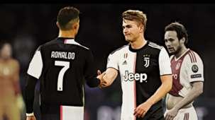 Cristiano Ronaldo Matthijs de Ligt GFX