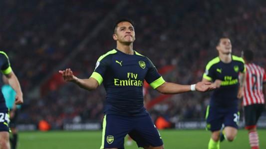 Alexis Sanchez Arsenal Southampton 10052017