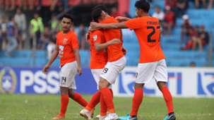Selebrasi Borneo FC